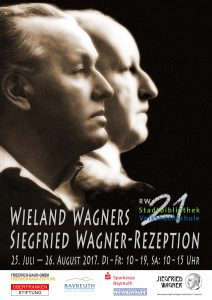 [Poster] Wieland Wagner's Siegfried Wagner Reception