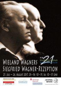 [Poster] Wieland Wagner's Siegfried Wagner Reception